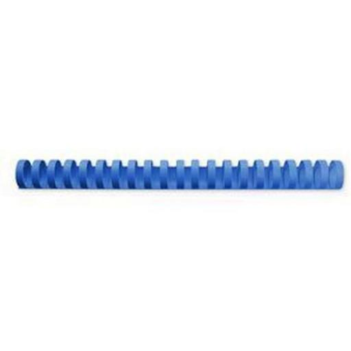 GBC Binding Combs Plastic 21 Ring 165 Sheets A4 19mm Blue Ref 4028621 [Pack 100]
