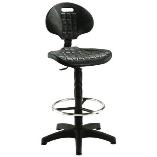 Jemini Draughtsman Black Chair KF017052