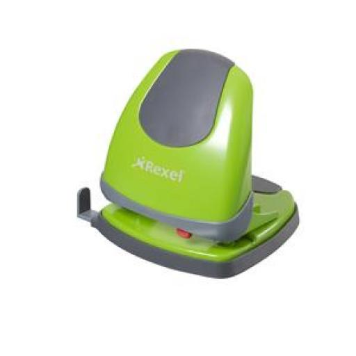 Rexel Easy Touch Low Force 2 Hole Punch (Green)