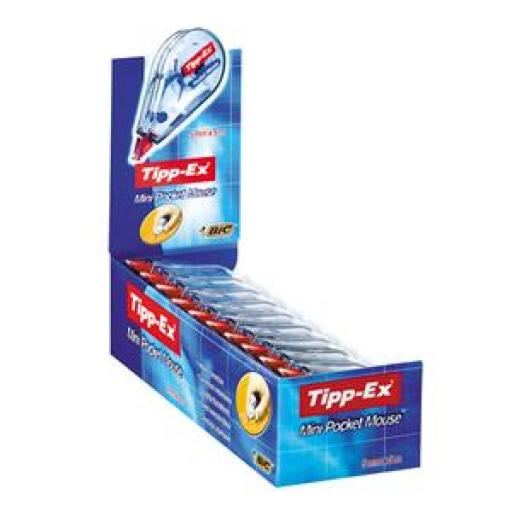 Tipp-Ex Mini P/Mouse 901817BOGOF Oct3/17