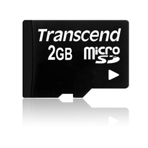 Transcend 2GB MicroSD Card without Adaptor