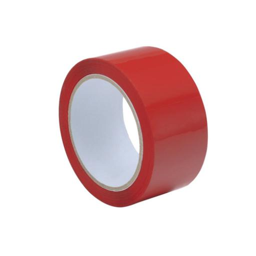 Tape Polypropylene 50mmx66m Red [Pack 6] *2017 Mailer*