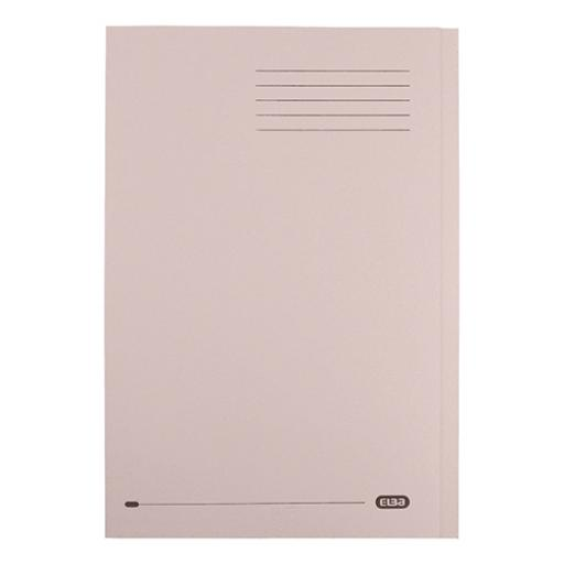Elba StrongLine Square Cut Folder Heavyweight 320gsm 32mm Foolscap Buff Ref 400053602 [Pack 50]
