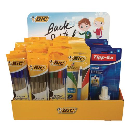 Bic Back to School Prefilled Till Topper 933873