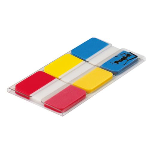 Post-it Index Strong 25mm Assorted Red Yellow and Blue Ref 686-RYB [Pack 66] [2 For 1] Aug 2018