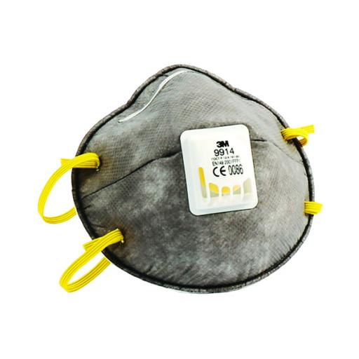 3M Cup Shaped Valved Respirator FFP1 9914 XA004837721