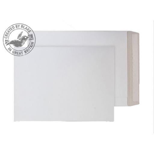 Blake Purely Packaging Env All Board P&S 330x248mm 350gsm White Ref PPA11 [Pack 100]