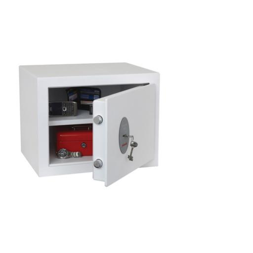 Phoenix Fortress White High Security Burglary Safe SS1182K
