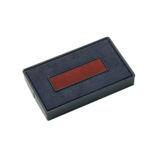 Colop E/4850 Replacement Pad Blue and Red Pack of 2 E4850