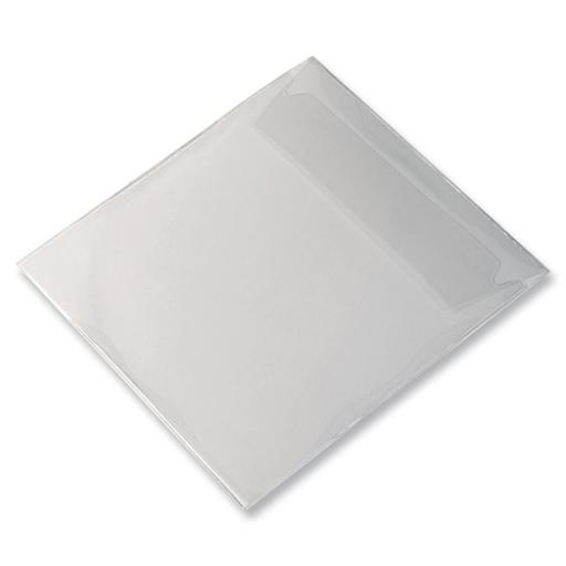 Durable CD/DVD Pocket Protective with Flap Ref 524519 [Pack 25]