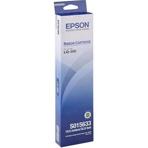 Epson SIDM Black Ribbon Fabric Nylon for LQ300+/+11/LQ350 Ref C13S015633