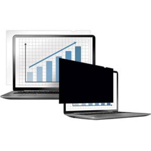 Fellowes PrivaScreen Blackout Privacy Filter for (12.5 inch) 16:9 Widescreen Laptops