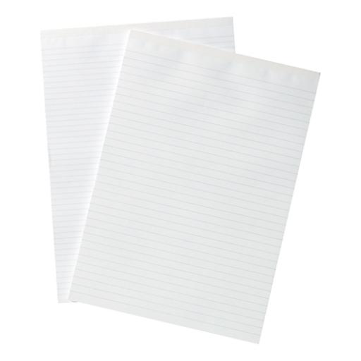 Silvine Memo Pad Headbound 56gsm Ruled 160pp A4 White Paper Ref A4MEMO [Pack 10]