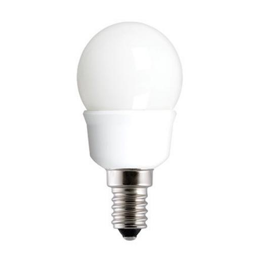 GE 5W T2 Heliax E14 Compact Fluores Bulb ExtWrmWhite 220lm Ref33789 A Rating *Up to 10 Day Leadtime*