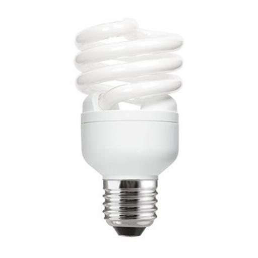 GE 20W T2 Heliax E27 Spiral Cpt Flrs Bulb Screw Fit 1200lm EEC-A CoolWhite Ref85646 *Upto 10Day Leadtime*