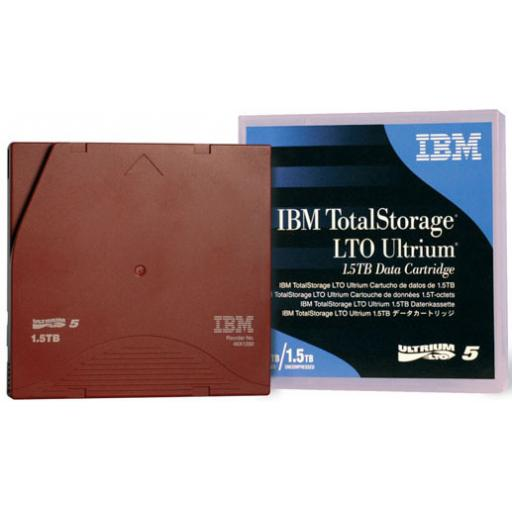 IBM TotalStorage Ultrium 5 LTO 1.5TB/3.0TB Data Cartridge