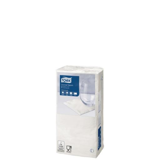 Tork Cocktail Napkins 2 Ply White (Pack of 200) 477534