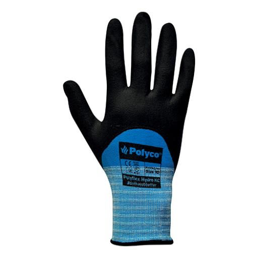 Juba SMART TIP 4120 (Size 9 - Large) Touchscreen Compatible Nitrile Foam Coated Gloves (1 x Pair)
