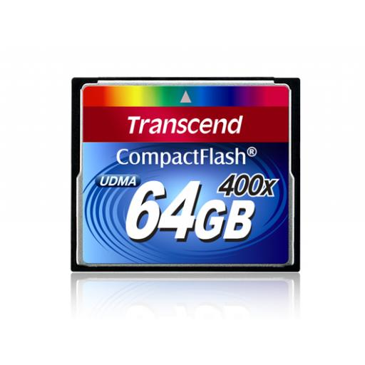 Transcend 400X 64GB CompactFlash Card