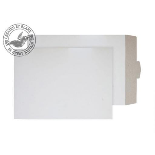 Blake Purely Packaging Envelopes AllBoard TuckFlap C3 350gsm White PPA27TUC [Pack100]
