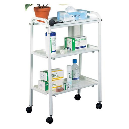 Click Medical Three Tier Trolley