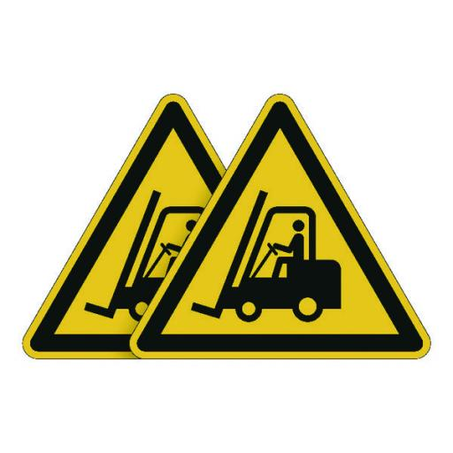 Durable Forklift Truck Area Sign (Pack of 5) BOGOF DB810743