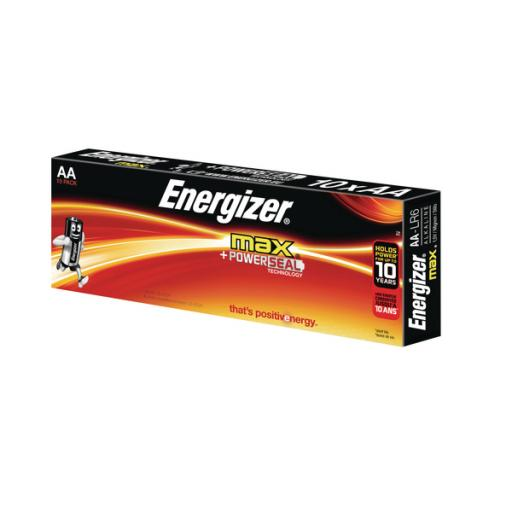 Energizer Max DP10 AA Batteries Pack of 10 E300112800