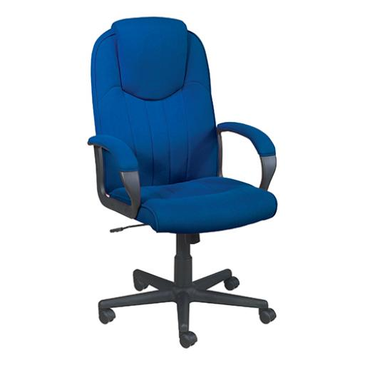 Trexus Intro Manager Chair Royal 520x470x440-540mm Ref SF-405-01 - Royal