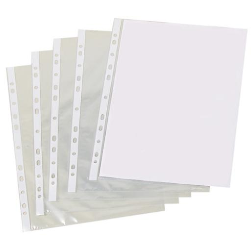 A4 Clear Punched Pockets Pack of 500 PM22312