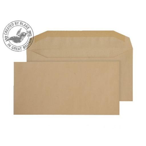 Blake Purely Everyday DLplus Mailing Wallet Gummed 80gsm Manilla Ref 2703 [Pack 1000]