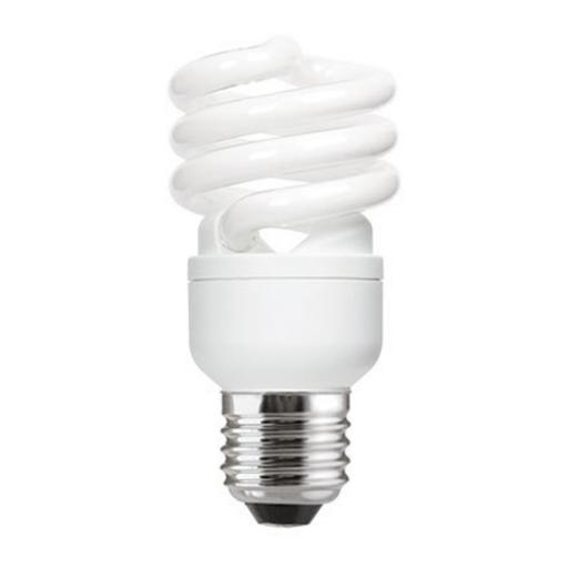 GE 15W T2 Heliax E27 Spiral Cpt Flres Bulb Screw Fit 950lm EEC-A ExtWrmWht Ref85642 *Upto 10Day Leadtime*