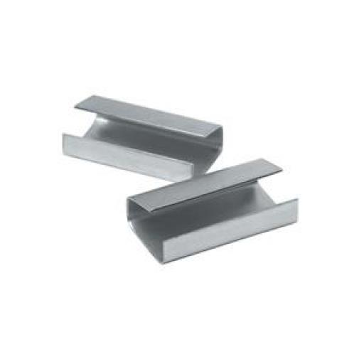 Strapping Seals (12mm) Heavy Duty Metal Pack of 2000