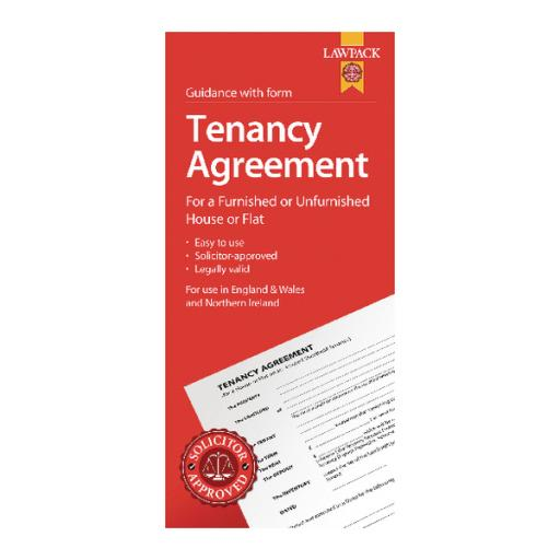 LawPack Tenancy Agreement (Pack of 5) TM8813