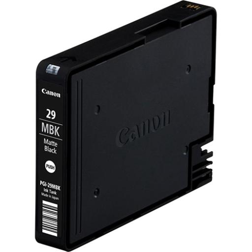 Canon PGI-29MBK Inkjet Cartridge 1345 photos Matte Black Ref 4868B001