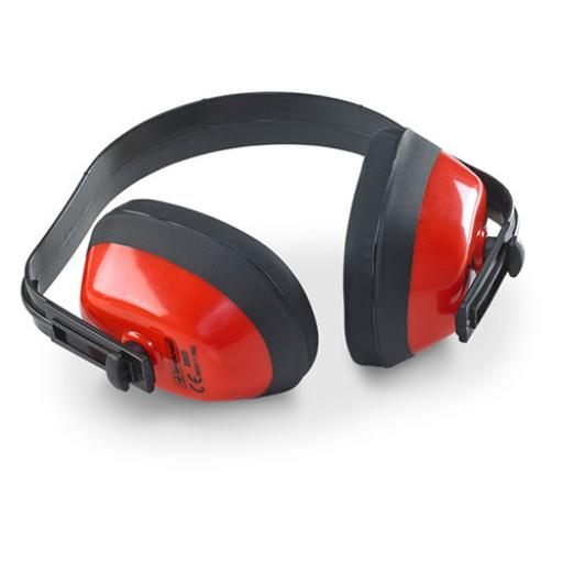 BBrand Economy Ear Defenders Red