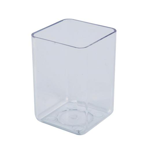 Executive Pen Tidy 1 Compartment Polystyrene Crystal Clear