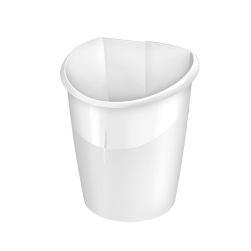CEP Ellypse Xtra Strong Waste Tub 15 Litre Arctic White 1003200021