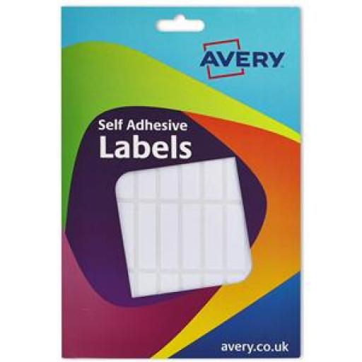 Avery (12x44mm) Wallet Of Labels (White) Pack of 432 Labels