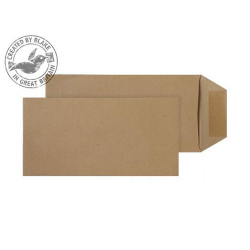 Blake Purely Everyday Envelope DL Pocket SelfSeal 80gsm Manilla Ref 2244 [Pack 500]