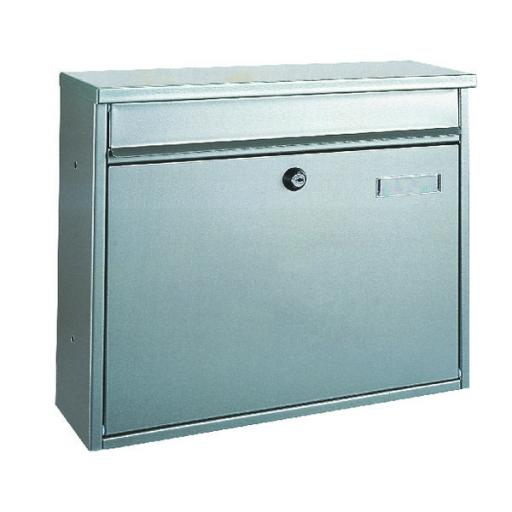 Hochhaus Mail Box Silver 371786