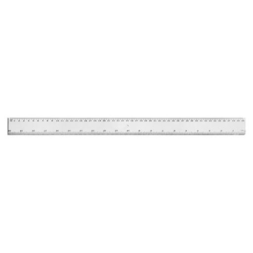 5 Star Office Ruler Plastic Metric and Imperial Markings 450mm Clear [Pack 24]