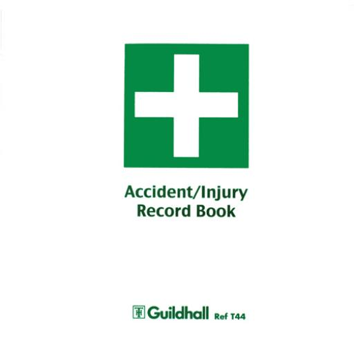 Guildhall Accident Book (Pack of 5) T44