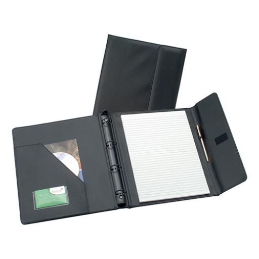 5 Star Elite Executive Conference Ring Binder with Hook and Loop Closure Capacity 50mm A4 Black