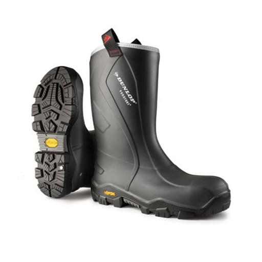 Dunlop Purofort plus Reliance Full Safety Boot Charcoal 14