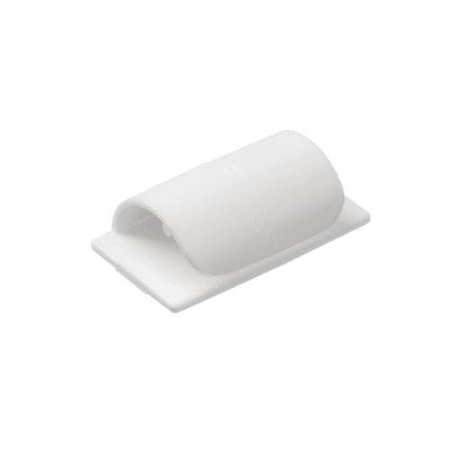 D-Line Cable Clips Self-Adhesive White Pack of 20 CTC1P20PK