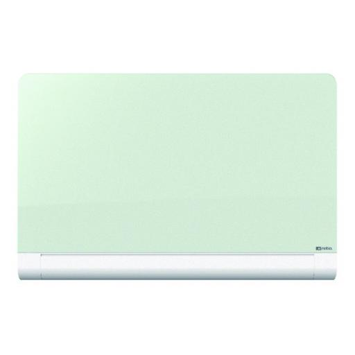 Nobo Widescreen 85 inch White Rounded Glass Whiteboard 1905193