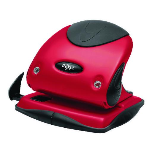 Rexel Choices Hole Punch P225 Red 2115692