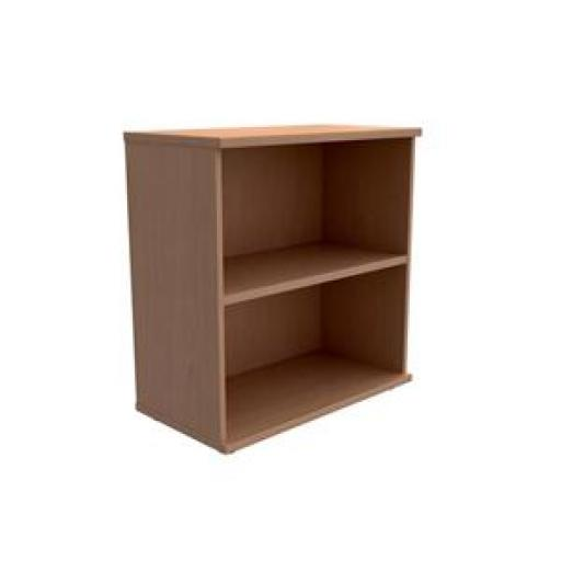 Initiative Low Bookcase W800mm x D420mm x H853mm (Beech)