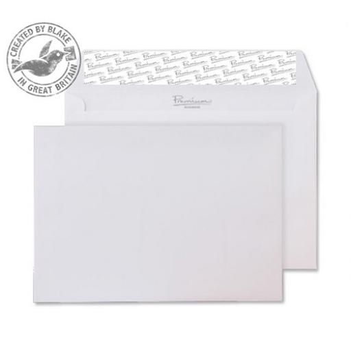Blake Premium Business C6 Wallet P&S 120gsm Wove Ice White Ref 21882 [Pack 500]