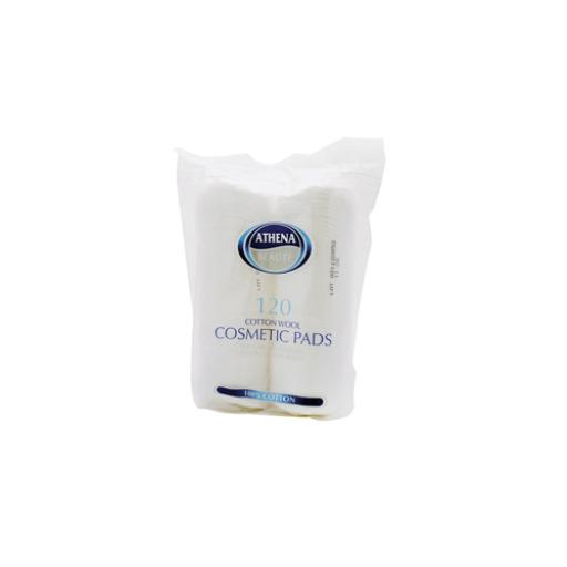 Athena Cotton Cosmetic Pads White0x12 VRB809874